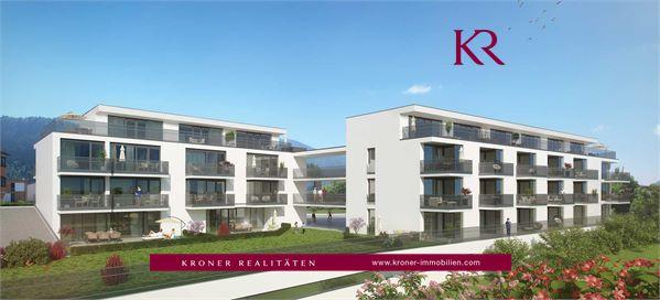 Neubau: 3 Zimmer Terrassenwohnung in Kufstein zu verkaufen
